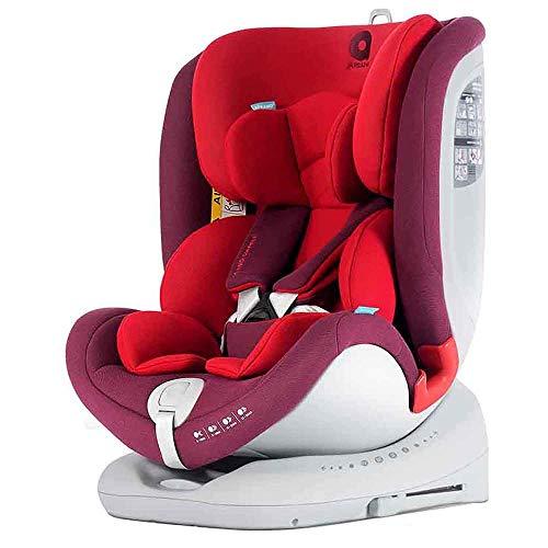 APRAMO All Stage, Sillas de auto infantil, Grupos 0/1/2/3, Rojo (Chilli Red)
