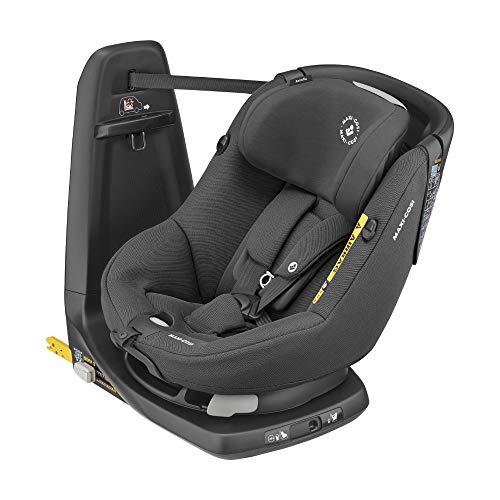 Maxi-Cosi Axissfix Silla de coche giratoria 360° isofix, silla auto reclinable y contramarcha para...