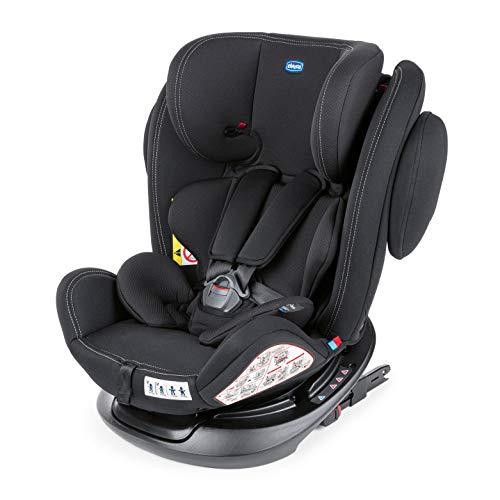 Chicco Unico Plus Silla de Coche ISOFIX Giratoria 360° y Reclinable Bebés de 0-36 kg, Grupo...