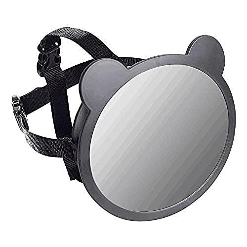apramo espejo Auto Bebé con forma de orejas negro