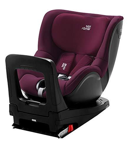 Romer Swingfix M I Size - Sillas de coche grupo 1, unisex, color burgundy red