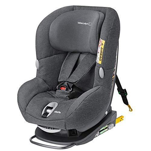 Bébé Confort MILOFIX - Silla de auto de 0 a 4 años, R44/04, 0-18 kg, gr 0+/1, color gris...