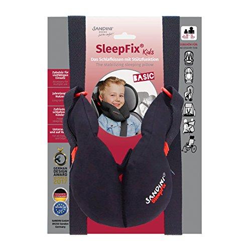 SANDINI SleepFix® Kids BASIC – Cojín infantil con función - Accesorios de asiento infantil para...