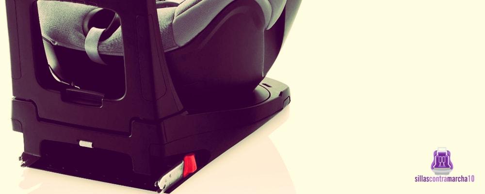 sillas contramarcha con isofix