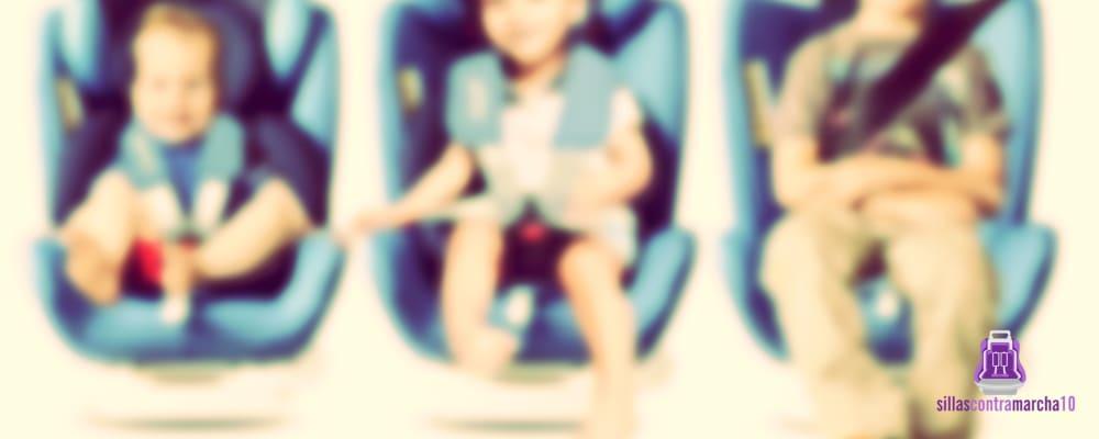 grupos edad y peso sillas coche bebé