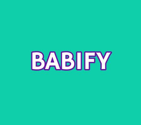 sillas coche babify